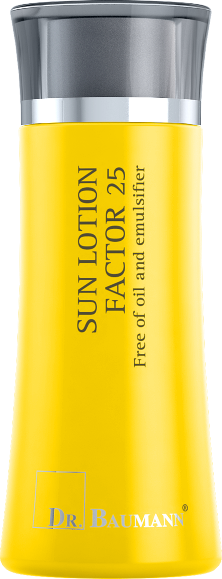 Sun Gel Lotion Factor 25 Free of oil and emulsifier